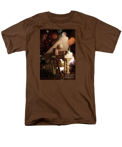 Men's T-Shirt  (Regular Fit) featuring the digital art Counting Blessings by Shanina Conway