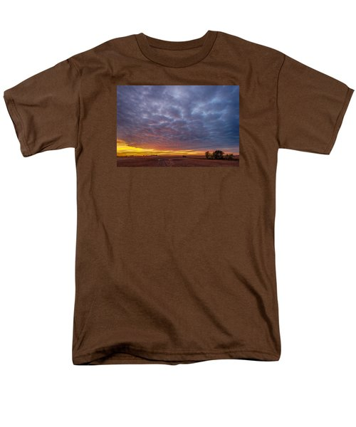 Men's T-Shirt  (Regular Fit) featuring the photograph Country Living by Sebastian Musial