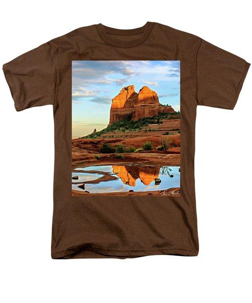 Cowpie 07-075 Men's T-Shirt  (Regular Fit) by Scott McAllister