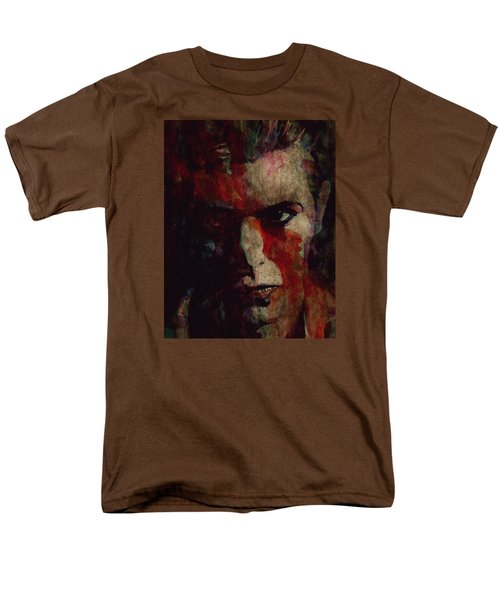 Cracked Actor Men's T-Shirt  (Regular Fit) by Paul Lovering