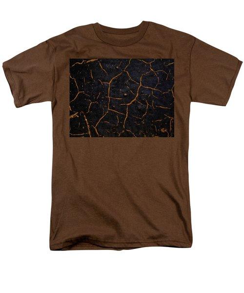 Men's T-Shirt  (Regular Fit) featuring the photograph Cracking Paint by Jason Moynihan