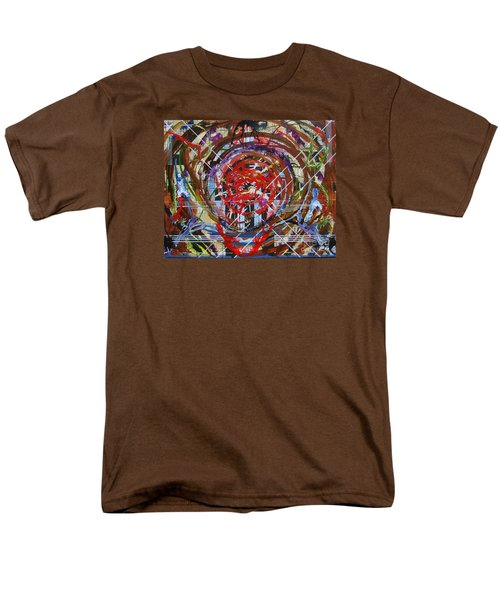 Crazy Quilt Star Dream Men's T-Shirt  (Regular Fit) by Stuart Engel