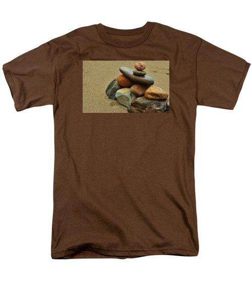 Men's T-Shirt  (Regular Fit) featuring the photograph Creating Balance by Pamela Blizzard