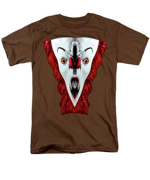 Creepy Clown 01215 Men's T-Shirt  (Regular Fit) by Rafael Salazar