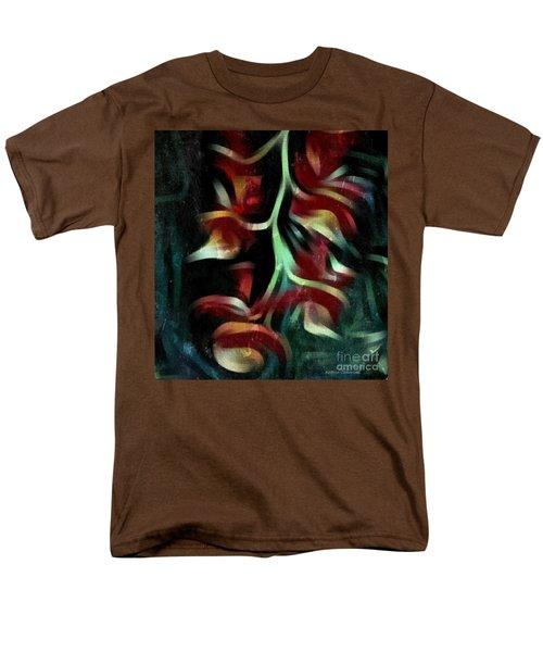 Men's T-Shirt  (Regular Fit) featuring the photograph Crimson Flow by Kathie Chicoine