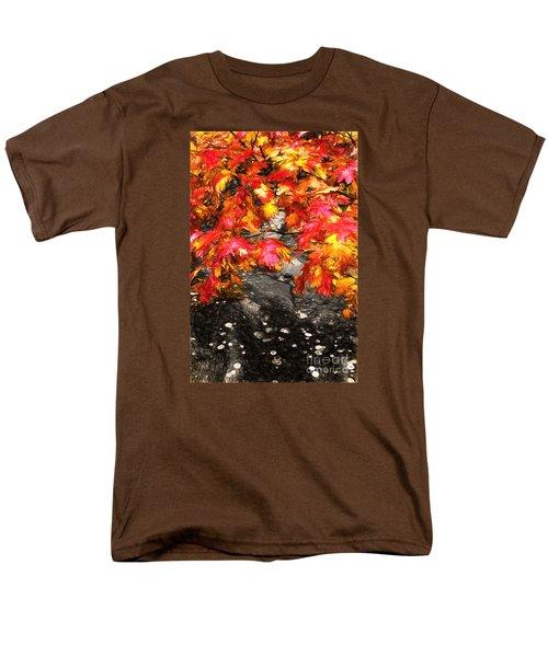 Crimson Splendor II Men's T-Shirt  (Regular Fit) by Dan Carmichael