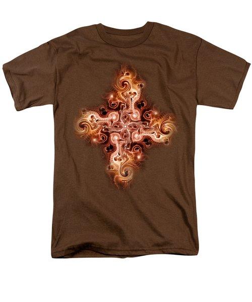 Cross Of Fire Men's T-Shirt  (Regular Fit) by Anastasiya Malakhova