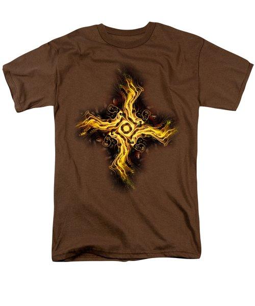 Cross Of Light Men's T-Shirt  (Regular Fit) by Anastasiya Malakhova