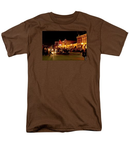 Cruise Night At The Car Show Men's T-Shirt  (Regular Fit) by Karen McKenzie McAdoo