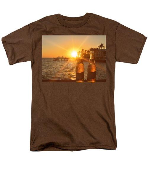 Crystal Clear Men's T-Shirt  (Regular Fit)