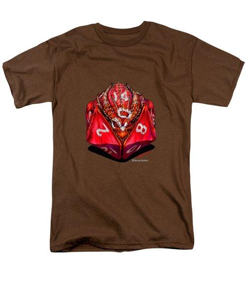 D20 Dragon T Shirt Men's T-Shirt  (Regular Fit)