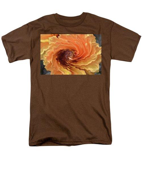 Dahlia Men's T-Shirt  (Regular Fit) by Debby Pueschel