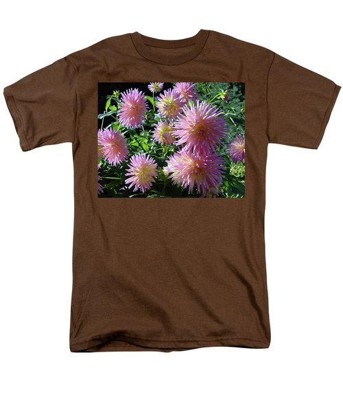Dahlia Group Men's T-Shirt  (Regular Fit) by Shirley Heyn