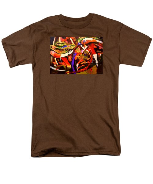 Men's T-Shirt  (Regular Fit) featuring the painting Dance Frenzy by Georg Douglas