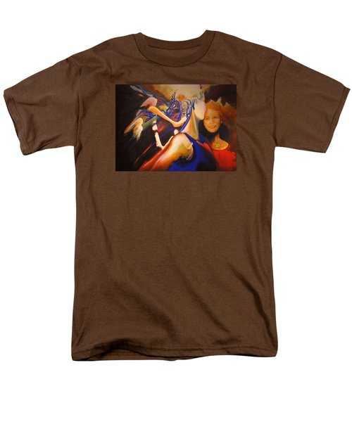 Men's T-Shirt  (Regular Fit) featuring the painting Dancers by Georg Douglas