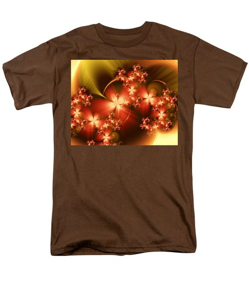 Men's T-Shirt  (Regular Fit) featuring the digital art Dancing In Autumn by Michelle H