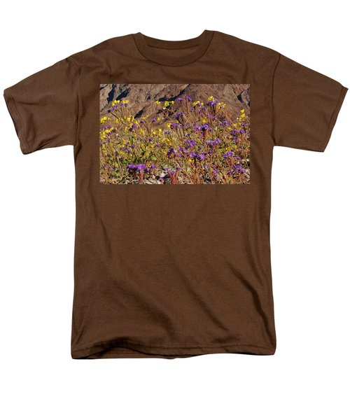 Death Valley Superbloom 401 Men's T-Shirt  (Regular Fit) by Daniel Woodrum