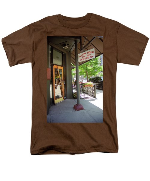 Men's T-Shirt  (Regular Fit) featuring the photograph Denver Happy Hour by Frank Romeo