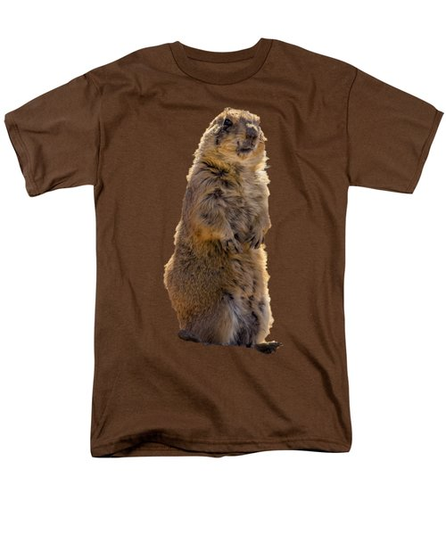 Desert Dawg Men's T-Shirt  (Regular Fit) by Mark Myhaver