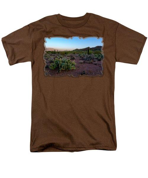 Desert Foothills H29 Men's T-Shirt  (Regular Fit) by Mark Myhaver
