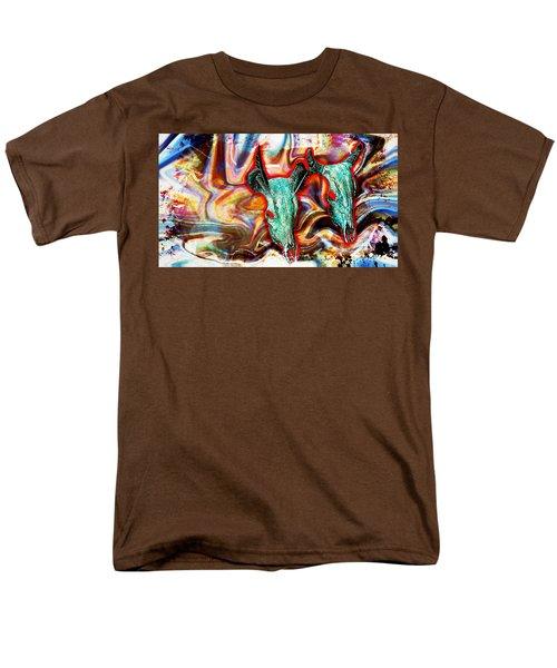 Desert Hallucination Men's T-Shirt  (Regular Fit) by Ian Gledhill