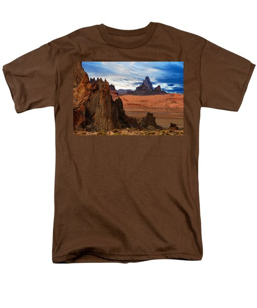 Men's T-Shirt  (Regular Fit) featuring the photograph Desert Rocks by Harry Spitz