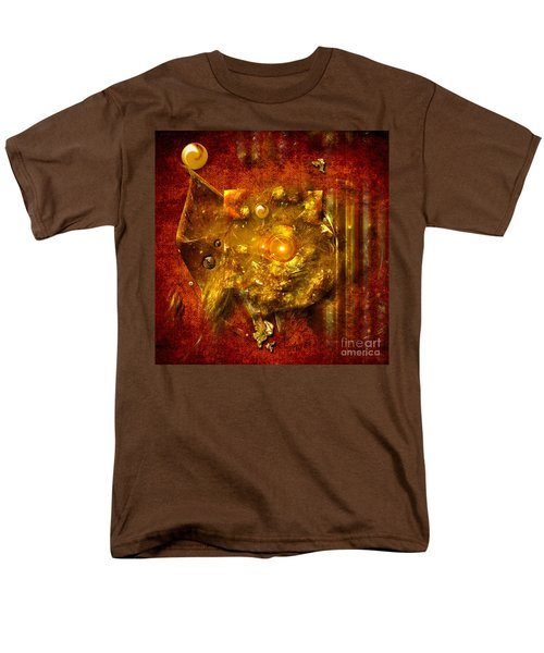 Men's T-Shirt  (Regular Fit) featuring the painting Dimension Hole by Alexa Szlavics