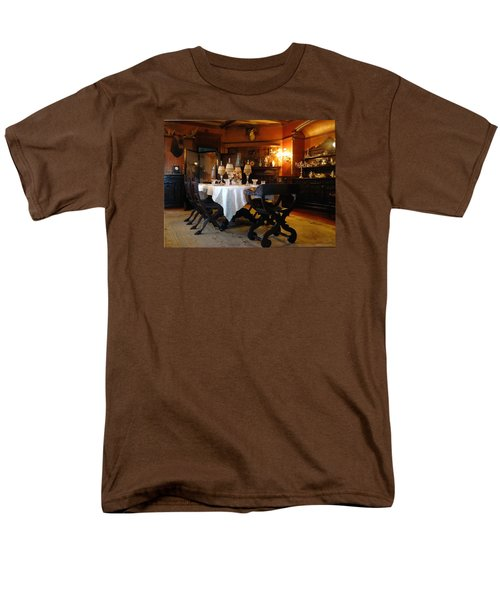 Dining Room Men's T-Shirt  (Regular Fit) by Mikki Cucuzzo