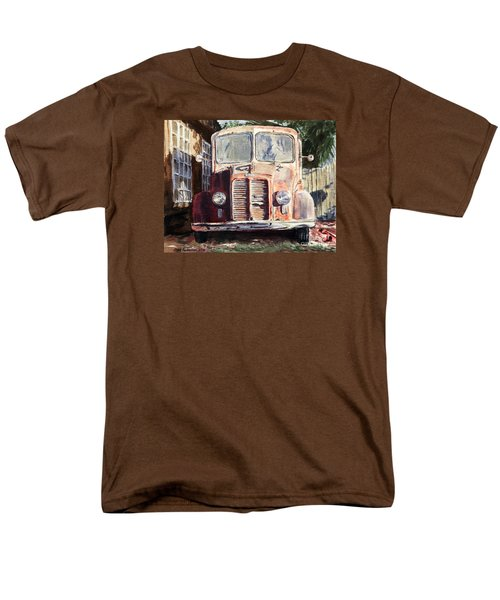 Divco Truck Men's T-Shirt  (Regular Fit) by Joey Agbayani