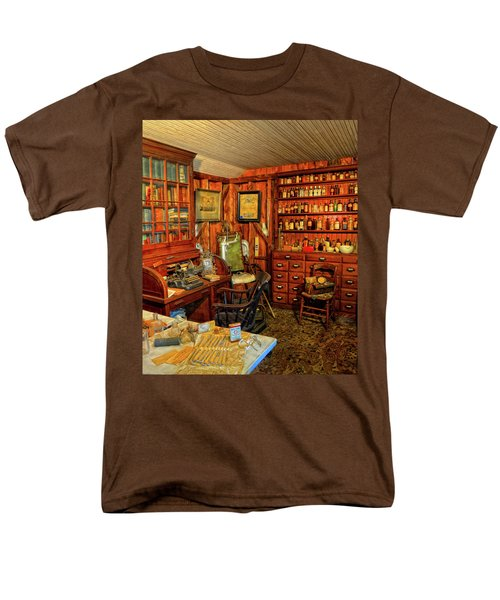 Doctors Office Men's T-Shirt  (Regular Fit) by Dave Mills