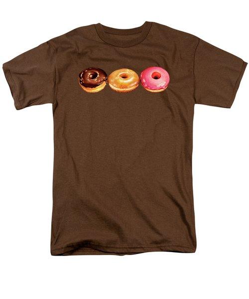 Donut Pattern Men's T-Shirt  (Regular Fit) by Kelly Gilleran