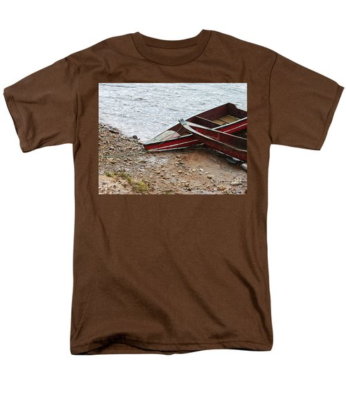 Dos Barcos Men's T-Shirt  (Regular Fit) by Kathy McClure