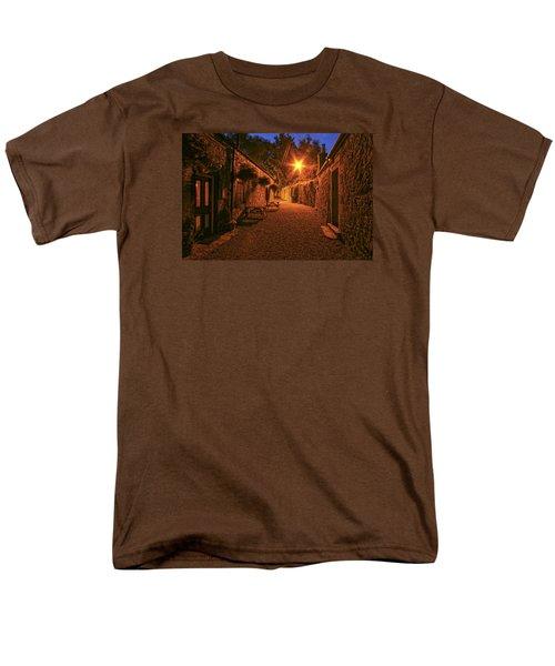 Down The Alley Men's T-Shirt  (Regular Fit) by Robert Och