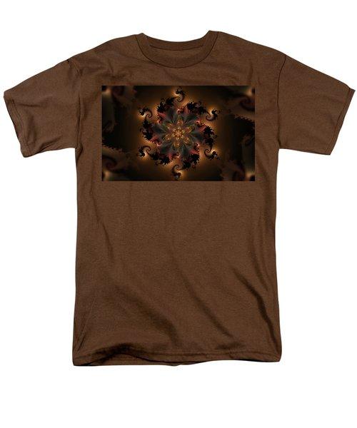 Dragon Flower Men's T-Shirt  (Regular Fit) by GJ Blackman