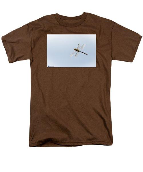 Dragonfly In Flight Men's T-Shirt  (Regular Fit) by Teresa Blanton