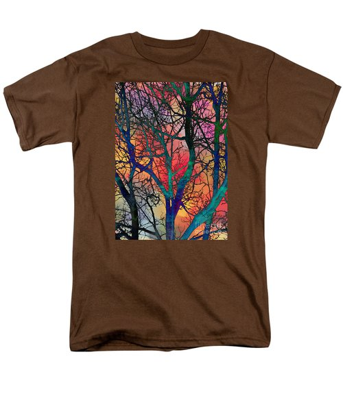 Men's T-Shirt  (Regular Fit) featuring the digital art Dreamy Sunset by Klara Acel
