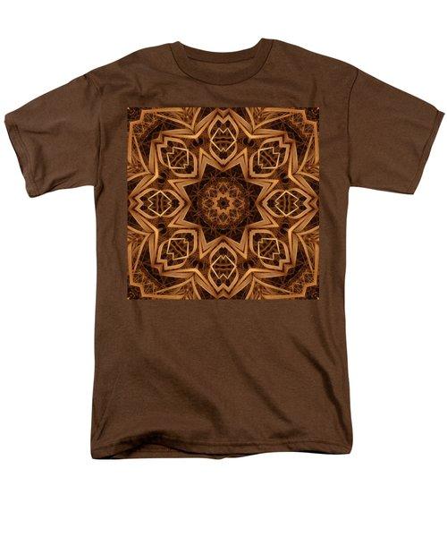 Dried Grass Mandala Men's T-Shirt  (Regular Fit) by Lyle Hatch