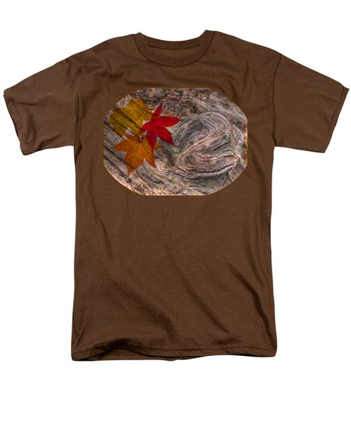 Drifting Autumn Leaves Men's T-Shirt  (Regular Fit) by Gill Billington