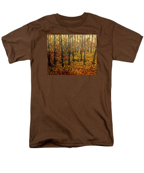 Drifting On The Fall Men's T-Shirt  (Regular Fit) by Lisa Aerts
