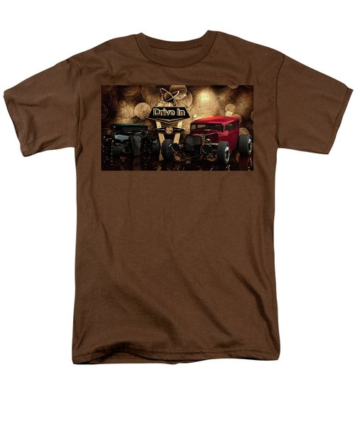 Men's T-Shirt  (Regular Fit) featuring the photograph  Drive In by Louis Ferreira