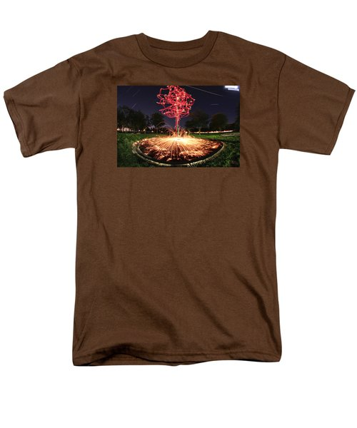 Drone Tree 1 Men's T-Shirt  (Regular Fit) by Andrew Nourse