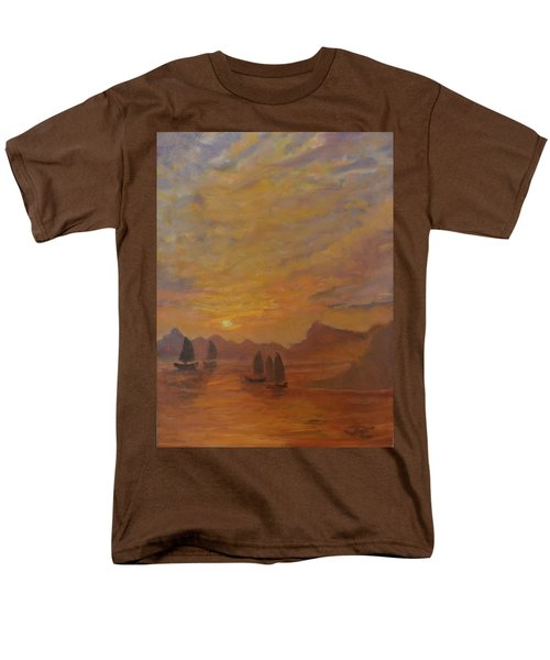 Men's T-Shirt  (Regular Fit) featuring the painting Dubrovnik by Julie Todd-Cundiff