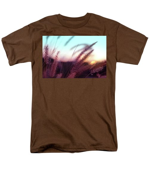 Men's T-Shirt  (Regular Fit) featuring the photograph Dune Scape by Laura Fasulo