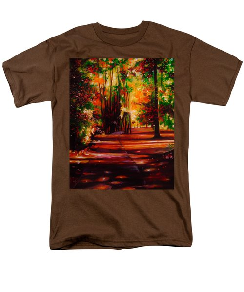 Men's T-Shirt  (Regular Fit) featuring the painting Early Monday Morning by Emery Franklin