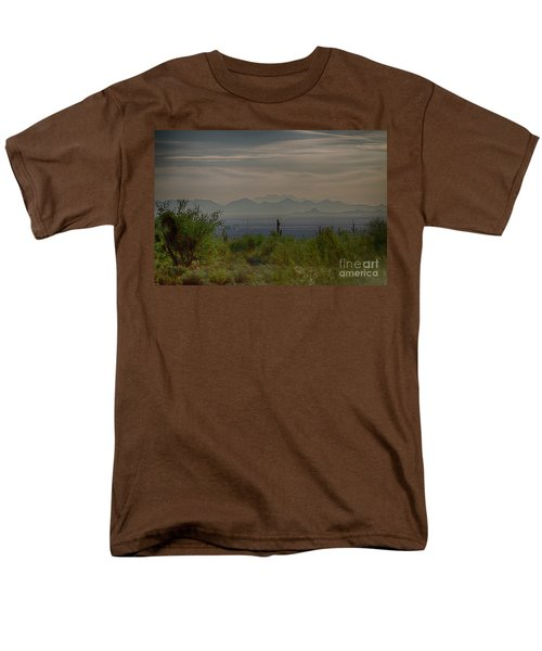 Men's T-Shirt  (Regular Fit) featuring the photograph Early Morning by Anne Rodkin