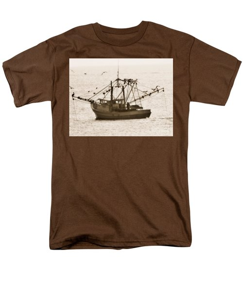 Early Morning Trawling  Men's T-Shirt  (Regular Fit) by Christy Ricafrente