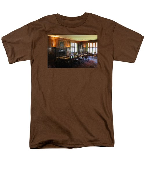 Men's T-Shirt  (Regular Fit) featuring the photograph Edsel And Eleanor Ford Dining Room by Michael Rucker