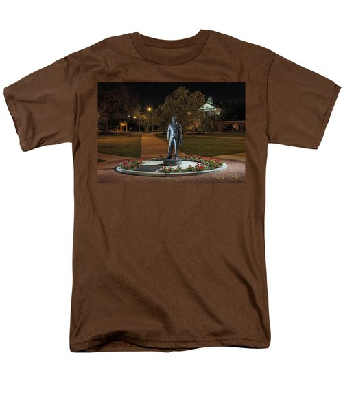 Men's T-Shirt  (Regular Fit) featuring the photograph Edwin Stephens At Night by Gregory Daley  PPSA