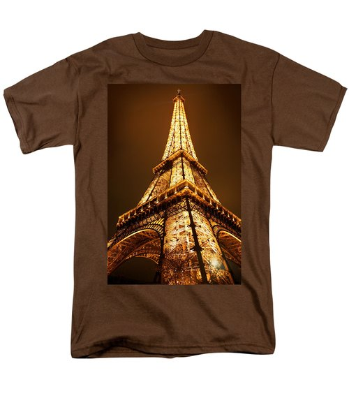 Men's T-Shirt  (Regular Fit) featuring the photograph Eiffel by Skip Hunt
