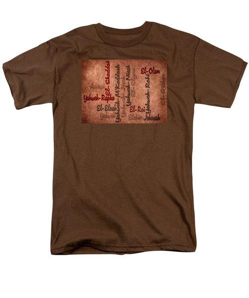 Men's T-Shirt  (Regular Fit) featuring the digital art El-olam by Angelina Vick